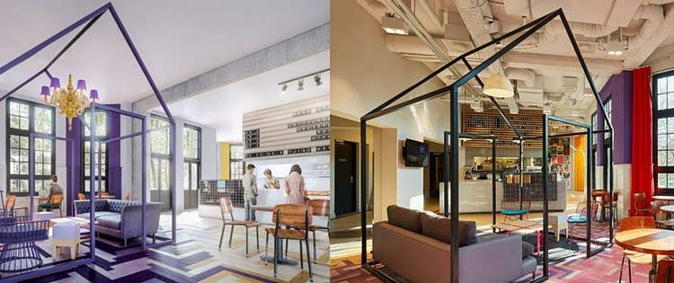 Nescio by generator amsterdam 033 tegelwerken advies for Design boutique hotel nederland